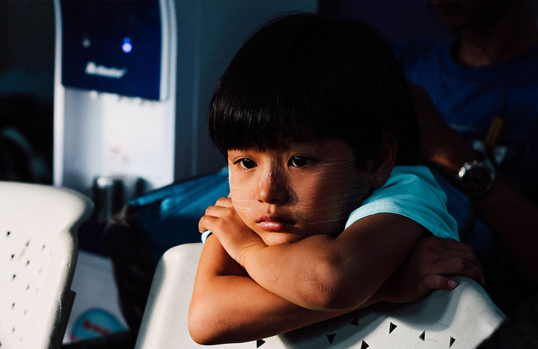 How to help a child who has suffered from trauma: Build a connection, be gentle, and help them process their emotions